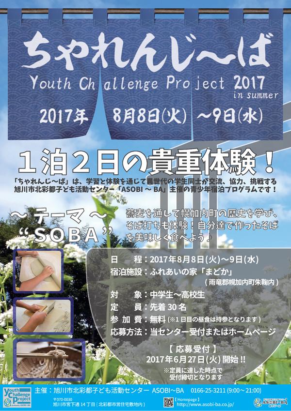 ちゃれんじ~ば2017